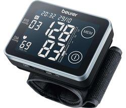 BC 58 Wrist Blood Pressure Monitor - Black & Grey