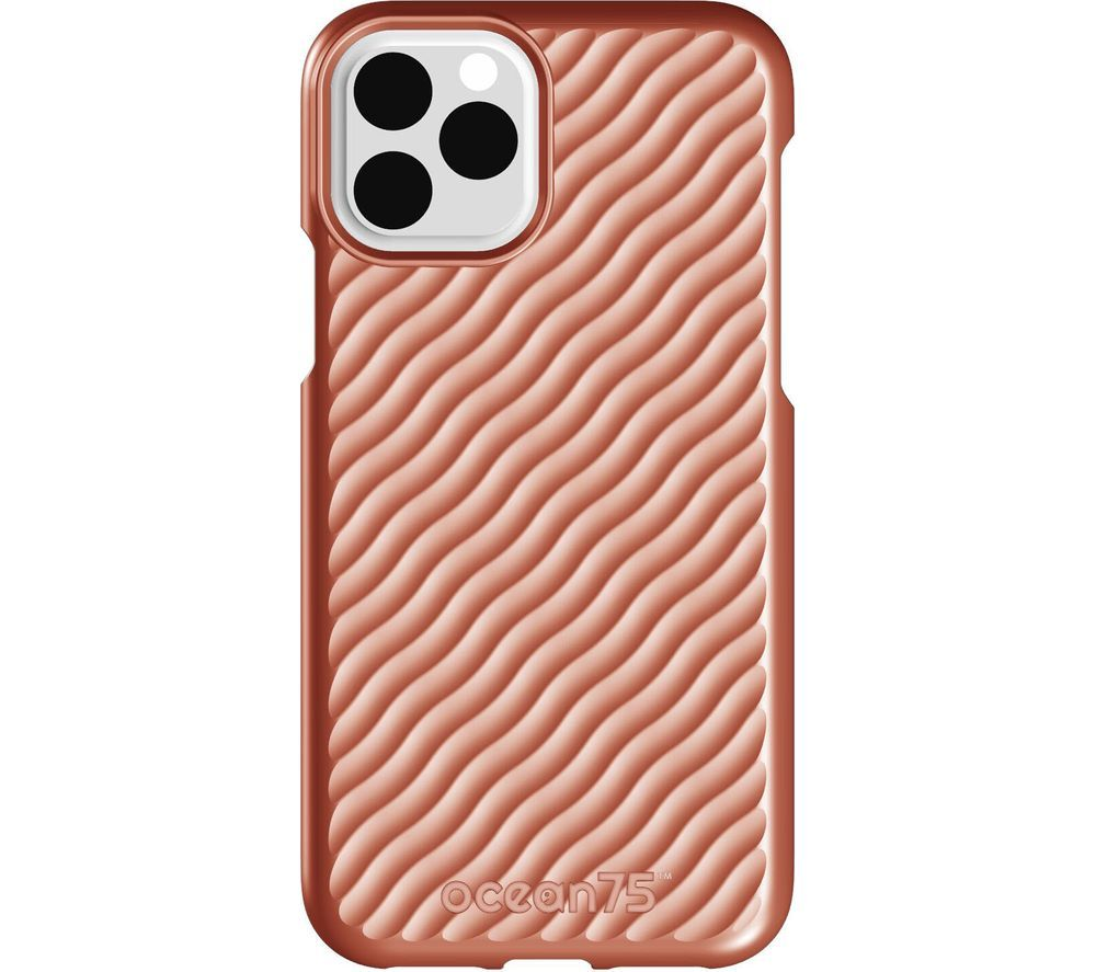 Image of Ocean Wave iPhone 11 Pro Case - Coral, Coral