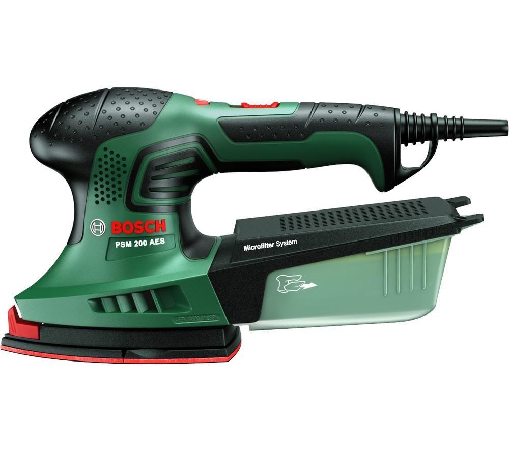 BOSCH PSM 200 AES Multi Sander - Green & Black