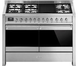 Opera A4-81 120 cm Dual Fuel Range Cooker - Stainless Steel