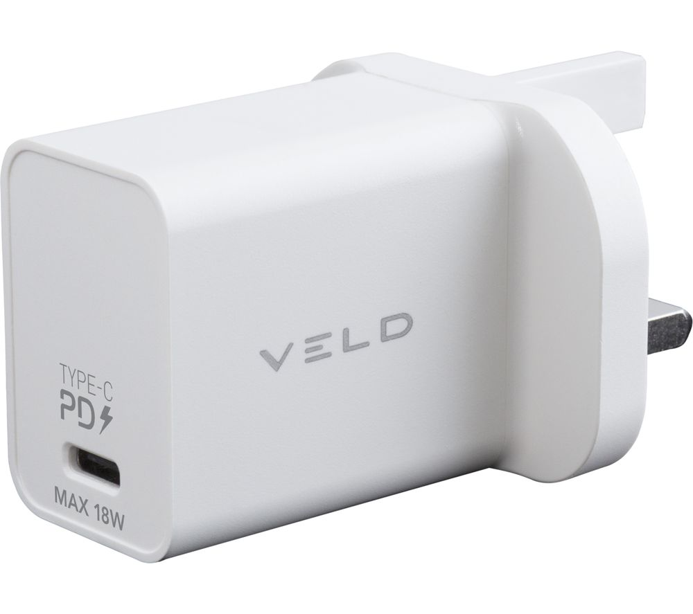 VELD Super-Fast USB Type-C Wall Charger