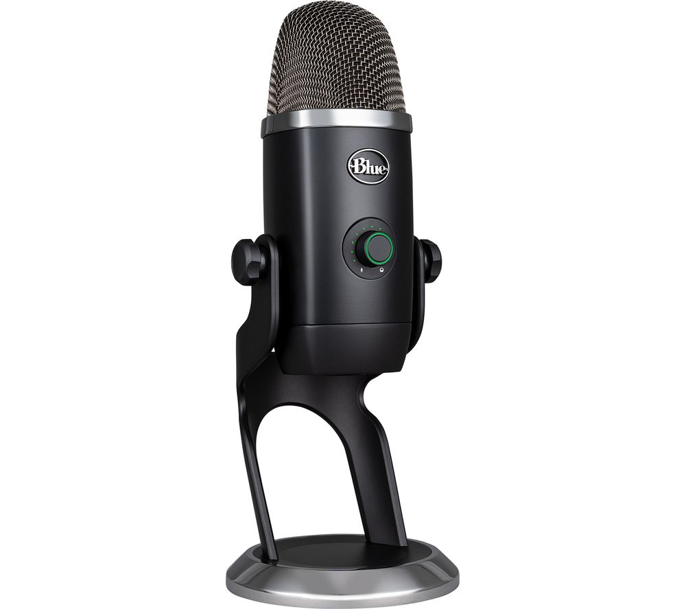 Image of BLUE Yeti X Professional USB Microphone - Black, Blue