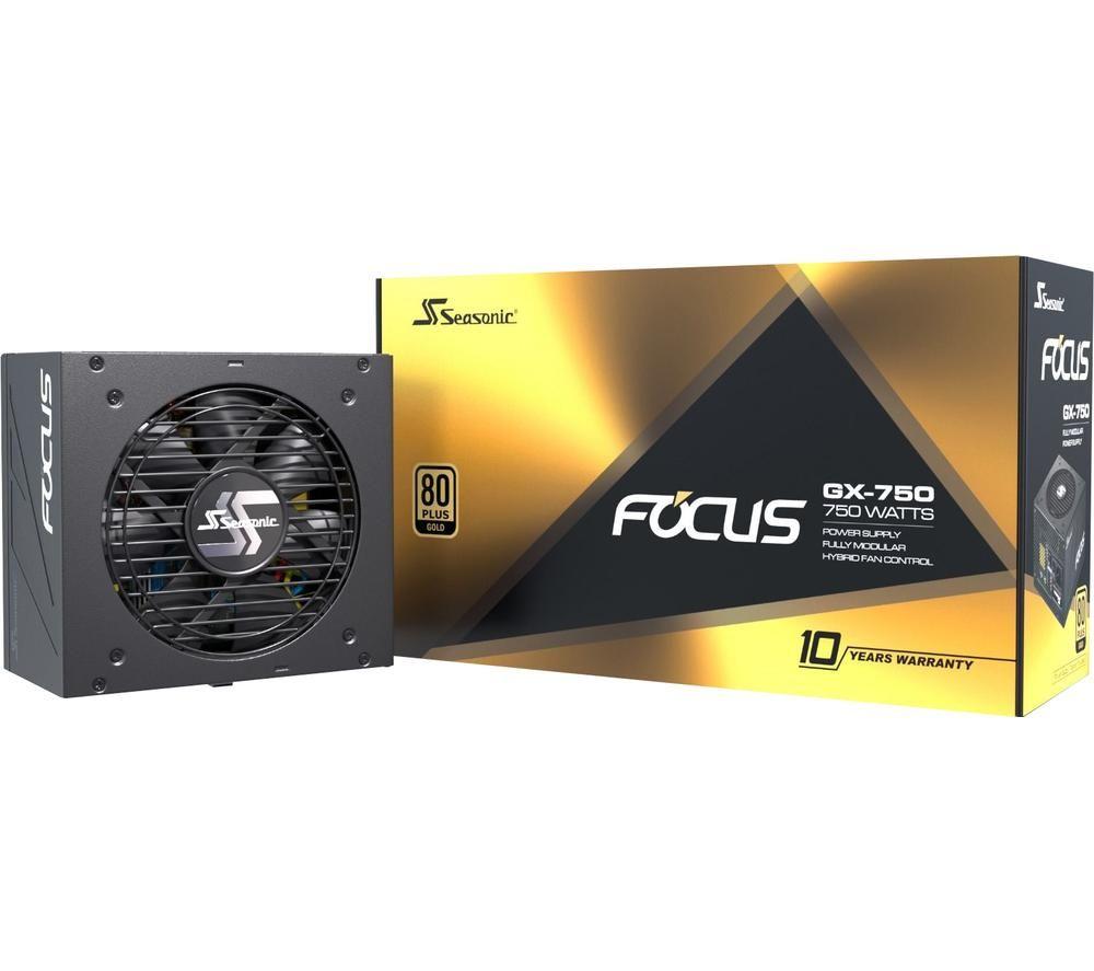 Image of SEASONIC Focus GX-750 Modular PSU - 750 W, Gold