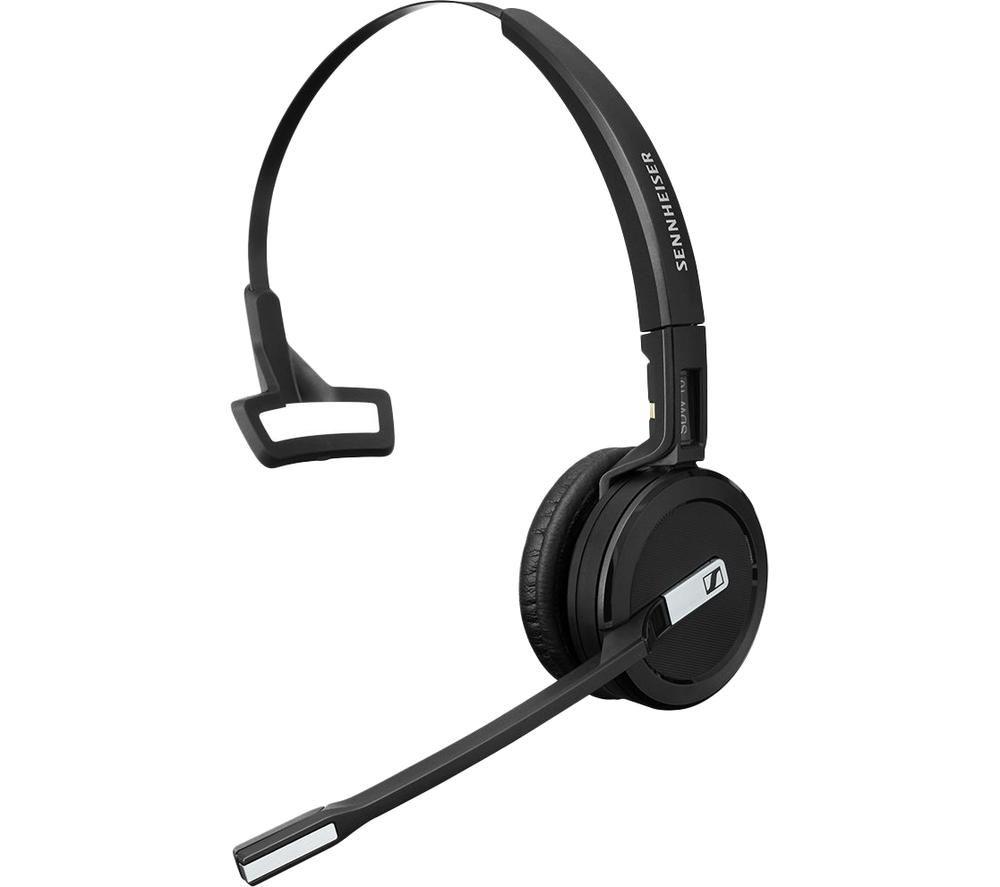 Image of SENNHEISER Impact SDW 5013 UK Wireless Headset - Black, Black
