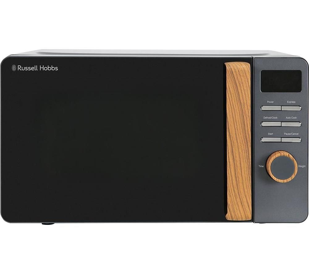 RUSSELL HOBBS Scandi RHMD714G Compact Solo Microwave - Grey, Grey