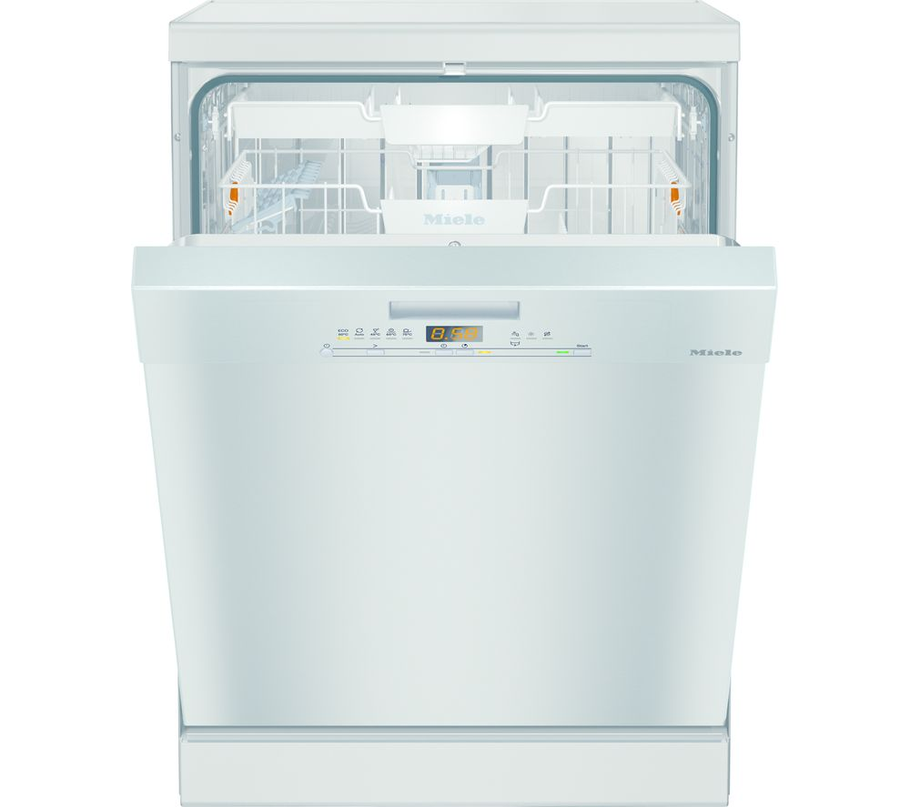 MIELE G5000SC Clst Full-size Dishwasher - Clean Steel