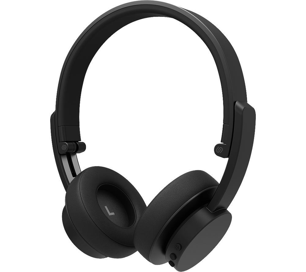URBANISTA Detroit Wireless Bluetooth Headphones - Black