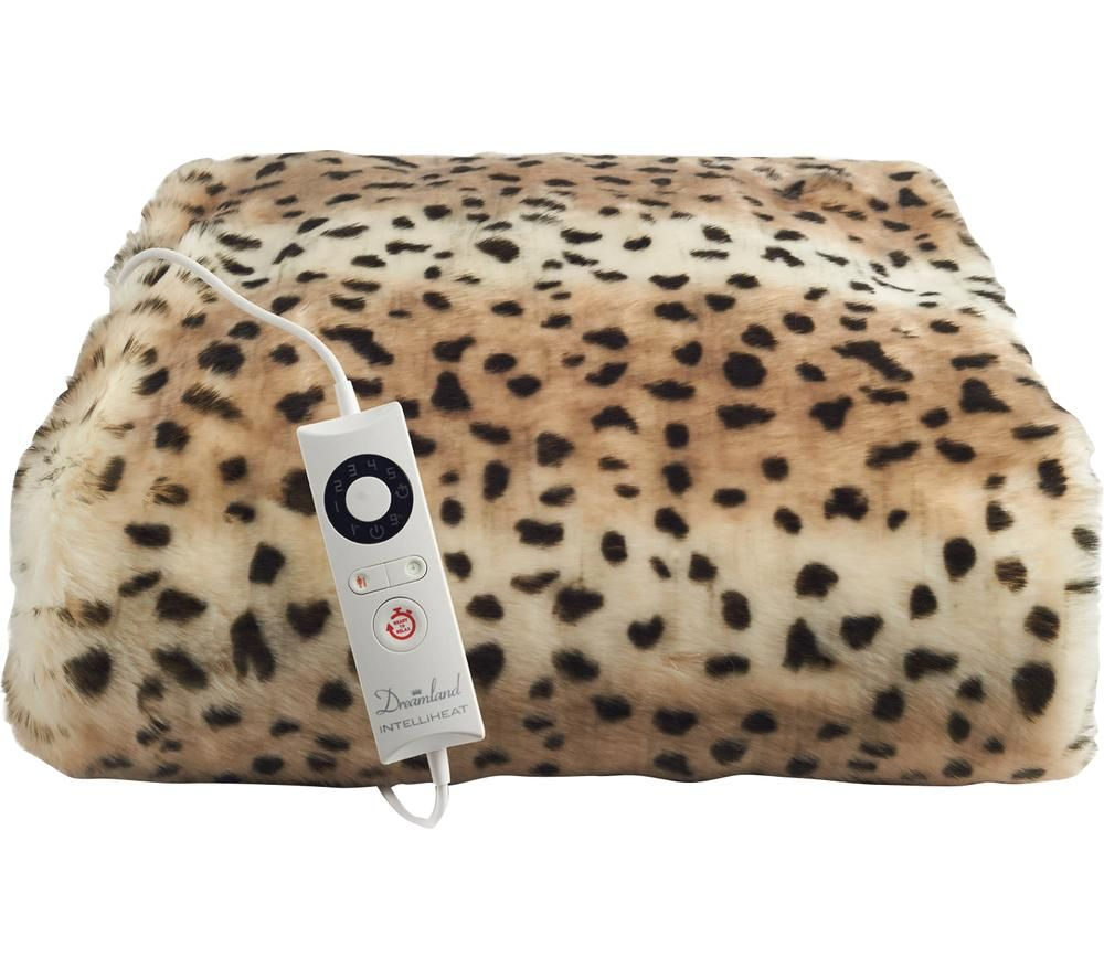 DREAMLAND Leopard 16651 Electric Blanket - Double