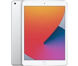 "Image of APPLE 10.2"" iPad (2020) - 128 GB, Silver"