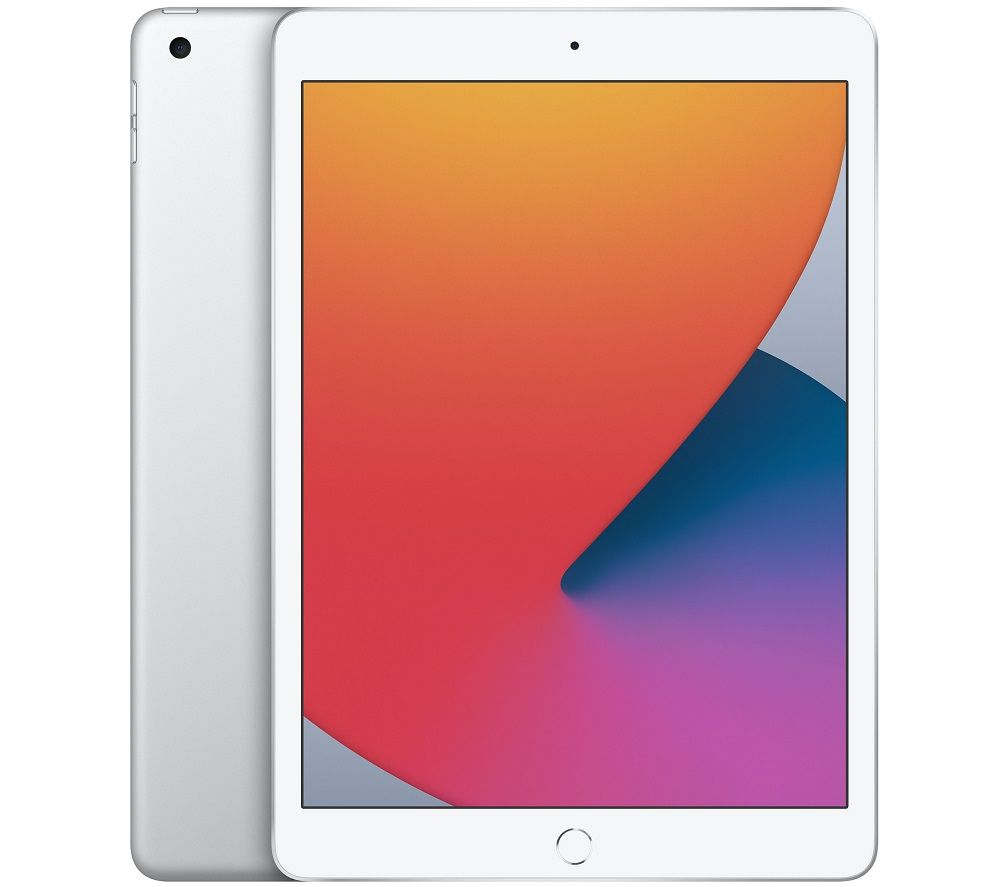 "Image of APPLE 10.2"" iPad (2020) - 128 GB, Silver, Silver"
