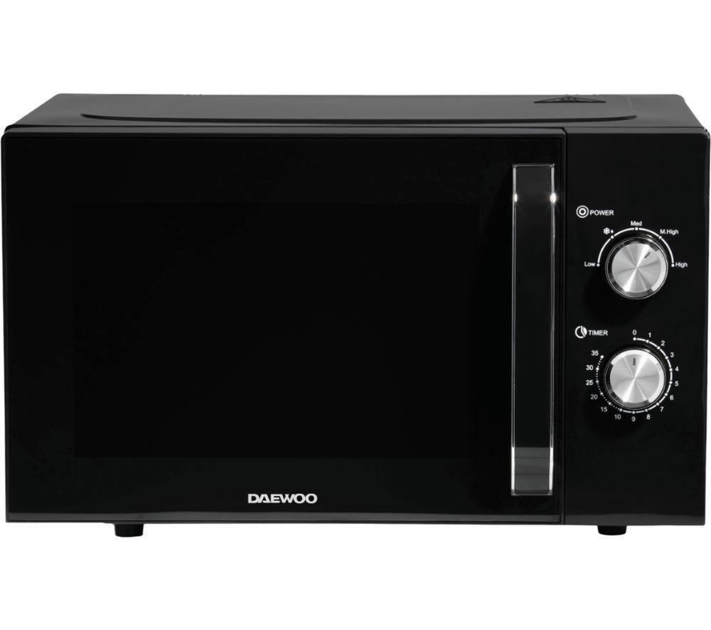 Daewoo Sda2085 Solo Microwave Black Black