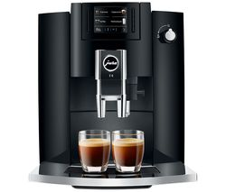JURA E6 15350 Bean to Cup Coffee Machine - Black Best Price, Cheapest Prices