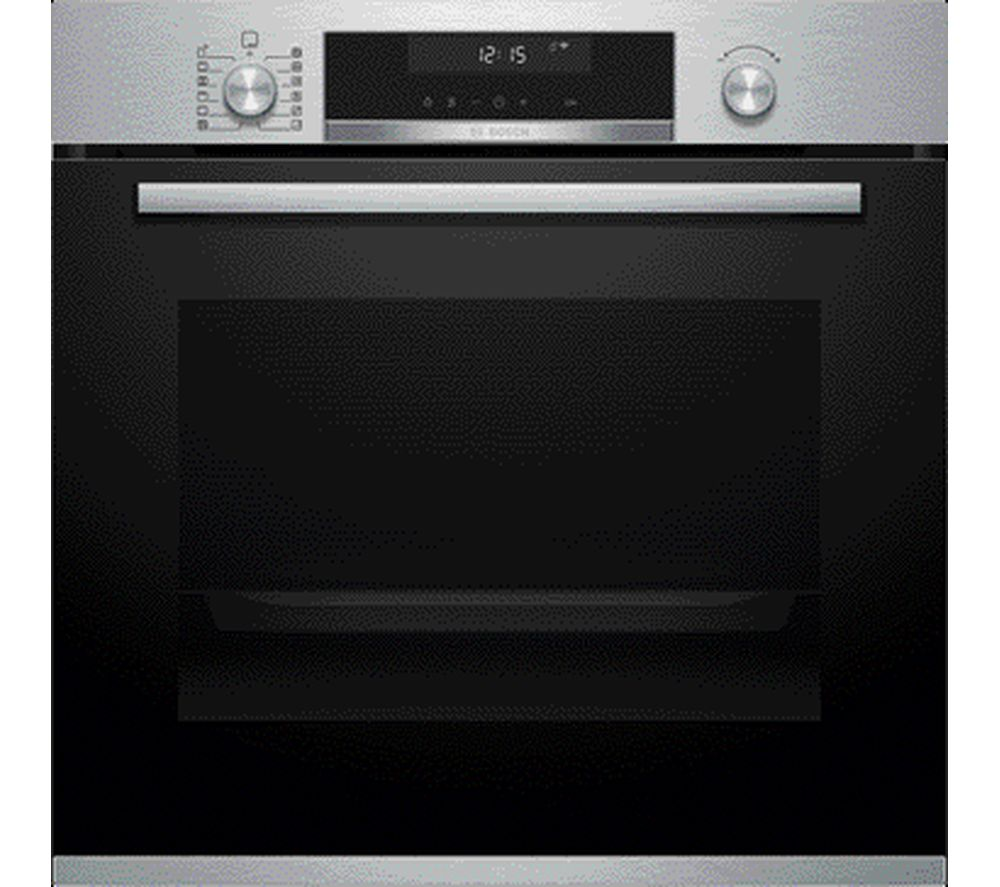 Image of BOSCH Serie 6 HBG5585S6B Electric Oven - Stainless Steel, Stainless Steel
