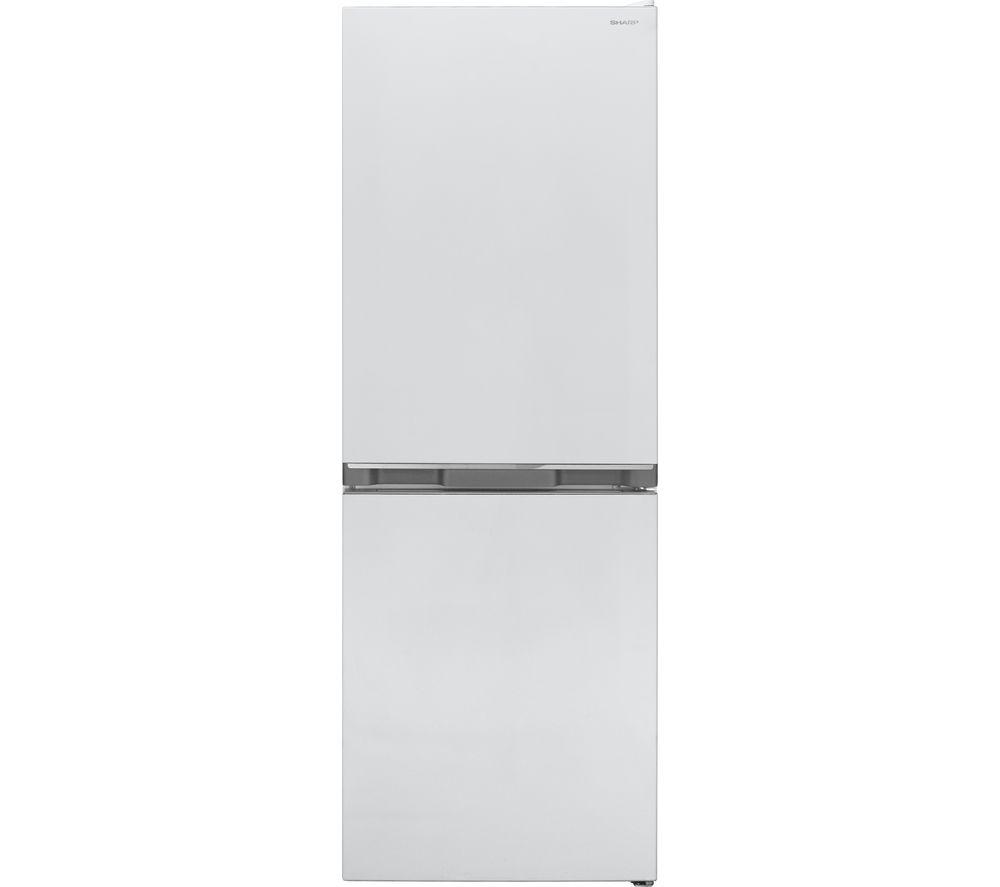 SHARP SJ-BB02DTXWF 50/50 Fridge Freezer - White