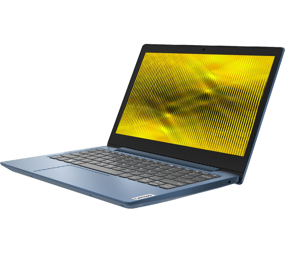 "Image of LENOVO IdeaPad Slim 1i 11.6"" Laptop - Intel®Celeron™, 64 GB eMMC, Blue, Blue"