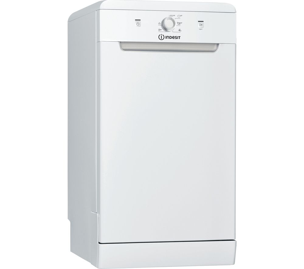 INDESIT DSFE 1B10 UK N Slimline Dishwasher - White