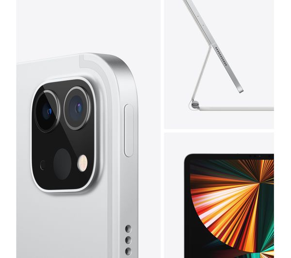 "Buy APPLE 12.9"" iPad Pro Cellular (2021) - 256 GB, Space ..."