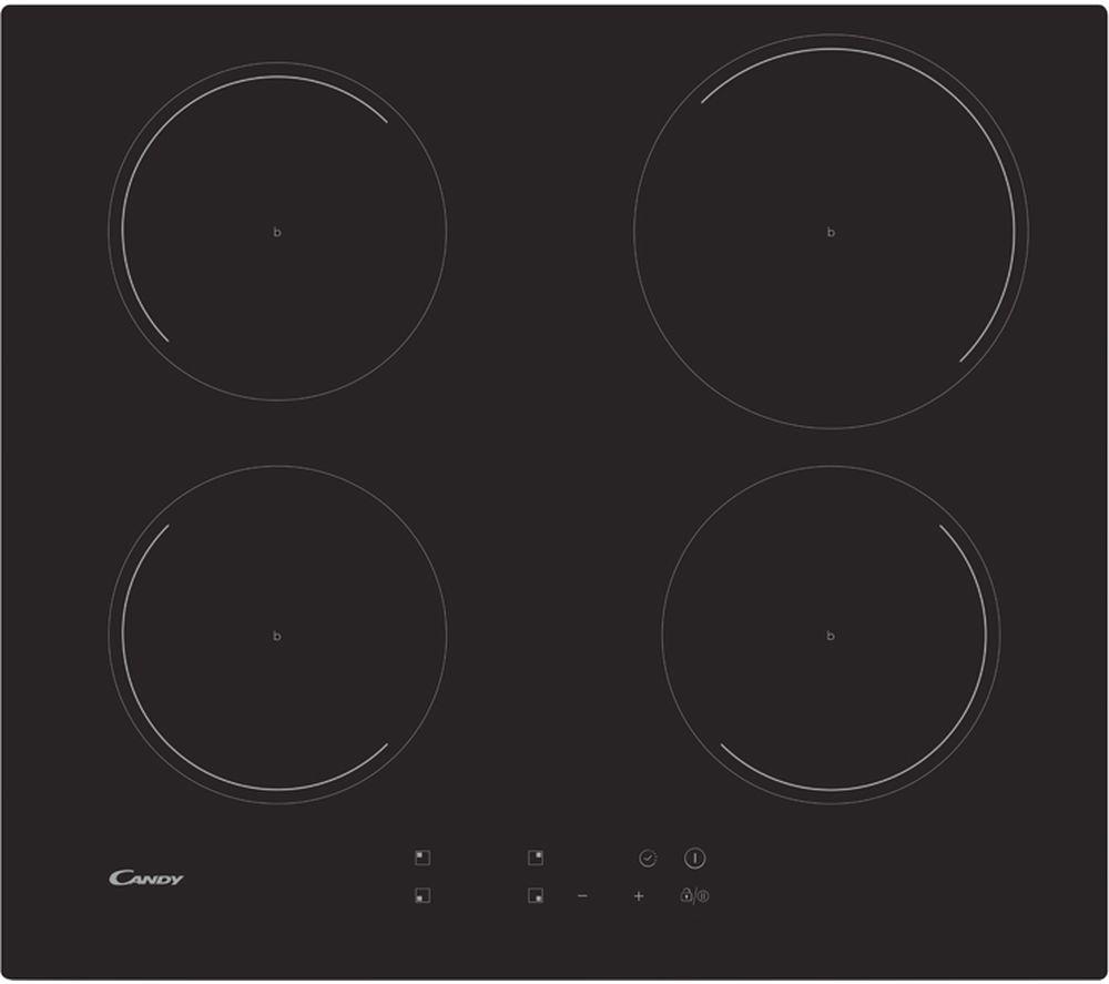 CANDY CI642C/E1 Electric Induction Hob - Black, Black