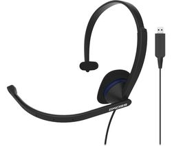 CS195-USB Headset - Black