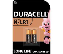 DURACELL MN9100/LR1/KN N Alkaline Batteries - Pack of 2