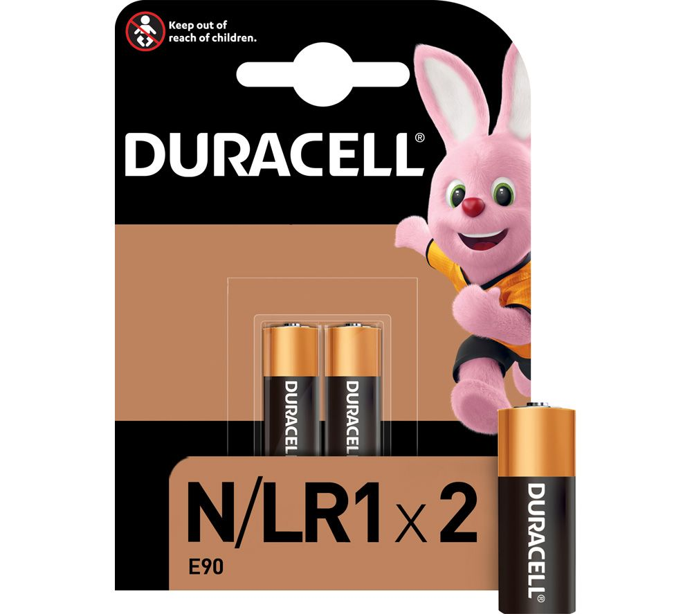 DURACELL MN9100/LR1/KN N Alkaline Batteries - Pack of 2