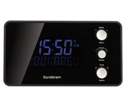 SANDSTROM SDABXCR13 DAB/FM Clock Radio - Black