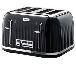 Impressions VTT476 4-Slice Toaster - Black