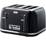 BREVILLE Impressions VTT476 4-Slice Toaster - Black