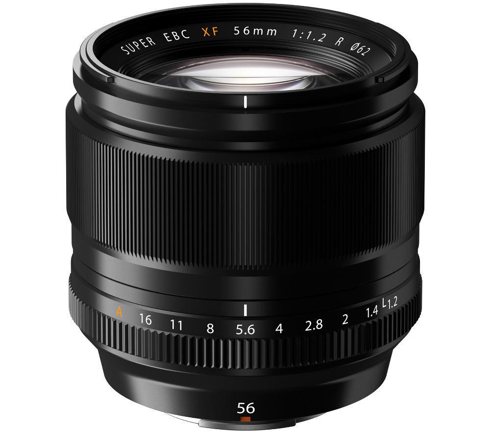 FUJIFILM Fujinon XF 56 mm f/1.2 IF Standard Prime Lens