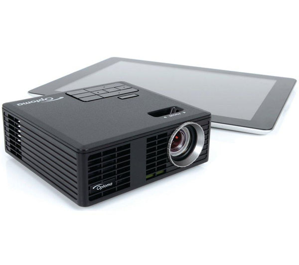 Optoma ml750e hd ready mini projector ds 9092pwc 92 for Pocket projector deals