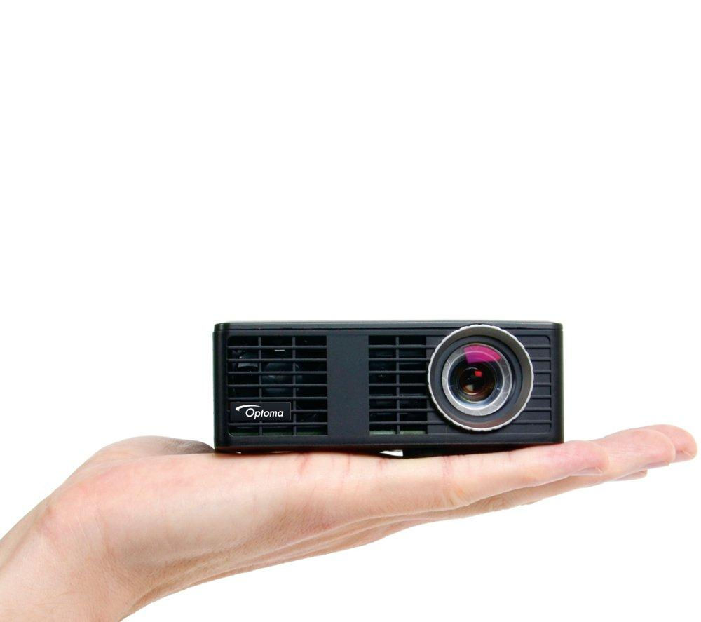 Optoma ml750e hd ready mini projector ds 3084pwc 84 for Hd projector small