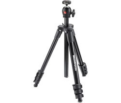MANFROTTO MKCOMPACTLT-BK Compact Light Tripod - Black