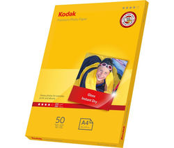 KODAK 5740-094 A4 Photo Paper - 50 Sheets