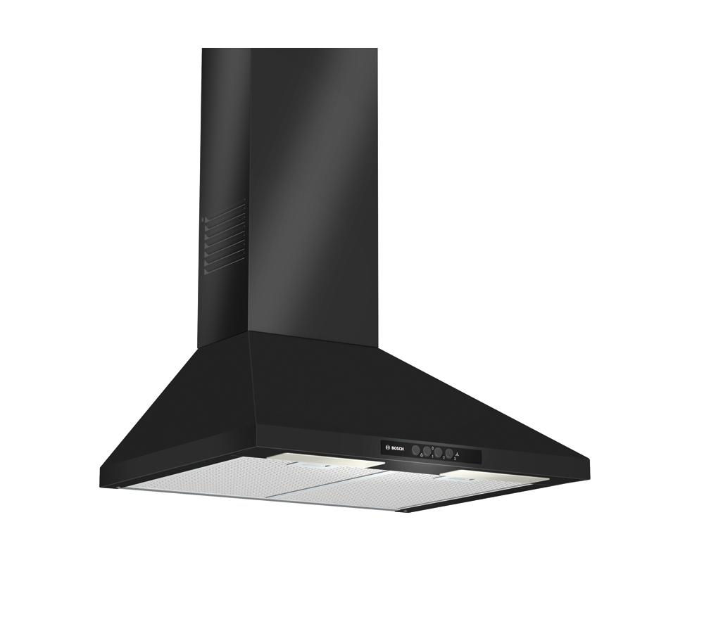 BOSCH DWW06W460B Chimney Cooker Hood - Black