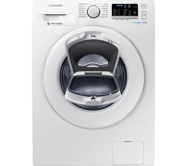 Buy Samsung Addwash Ww80k5410wweu Washing Machine White Free