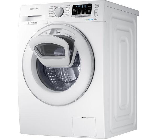 samsung addwash washing machine white