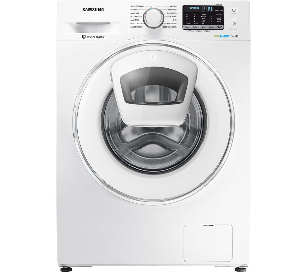SAMSUNG AddWash WW80K5410WW/EU 8 kg 1400 Spin Washing Machine - White