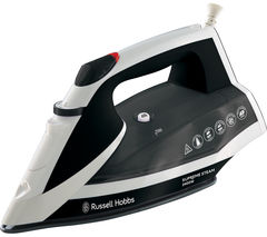 Supremesteam 23052 Steam Iron - White & Black
