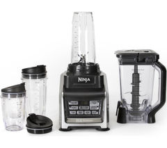 Nutri Ninja Duo BL642UK Blender - Black & Silver