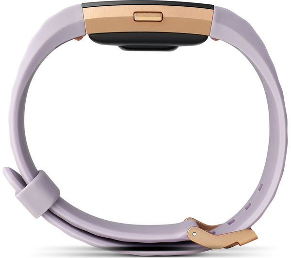 buy fitbit charge 2 lavender rose gold small free. Black Bedroom Furniture Sets. Home Design Ideas