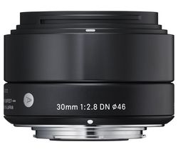SIGMA 30 mm f/2.8 DN Wide-angle Prime Lens - for Sony