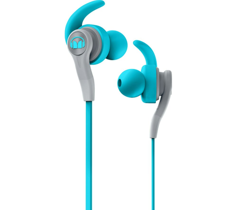 MONSTER iSport Compete Headphones - Blue