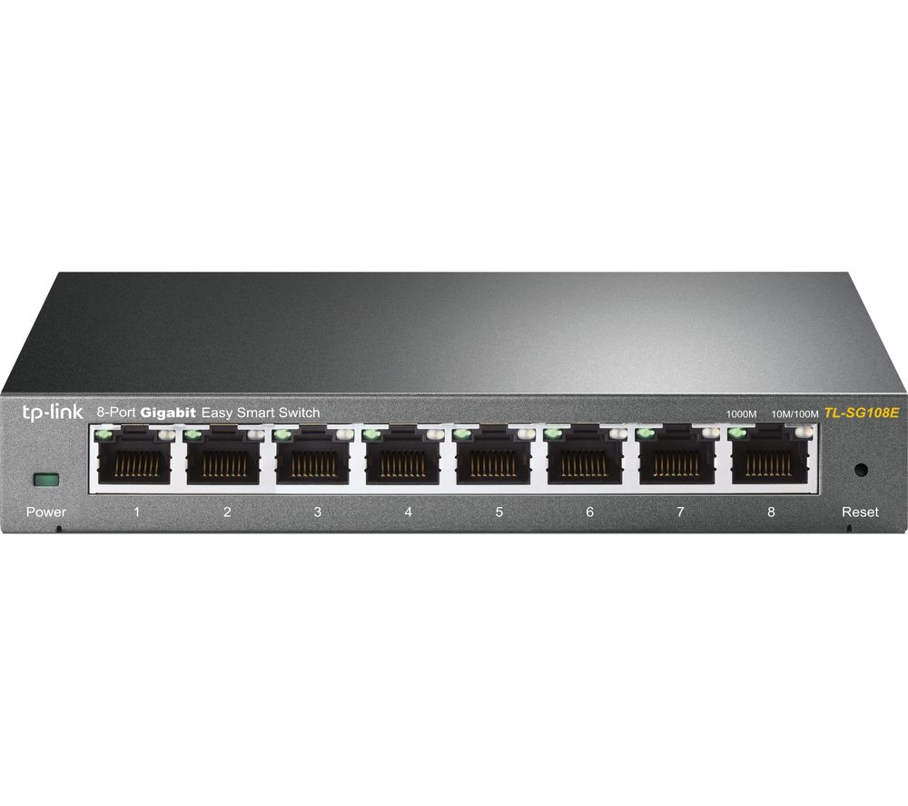 TP-LINK TL-SG108E Managed Network Switch - 8 port