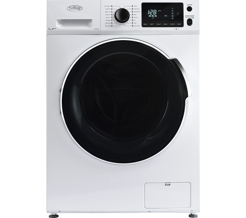 Compare retail prices of Belling BEL FW714 WHI Washing Machine to get the best deal online