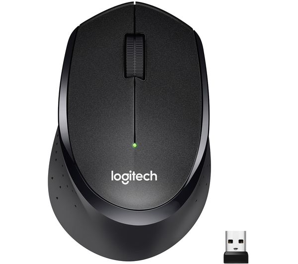 Image of LOGITECH M330 Silent Plus Wireless Optical Mouse - Black