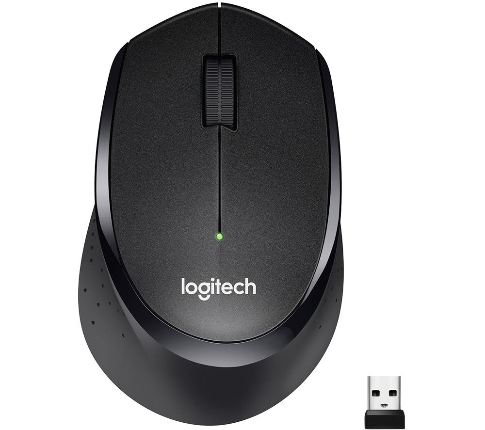 LOGITECH M330 Silent Plus Wireless Optical Mouse - Black