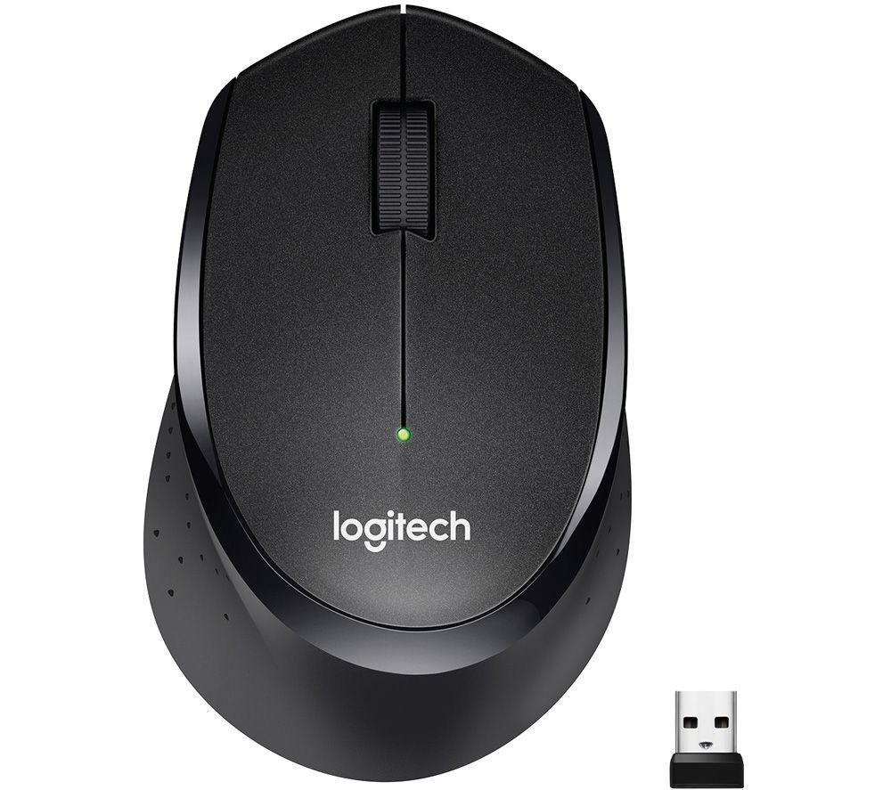 Image of Logitech M330 SILENT PLUS - mouse - 2.4 GHz - black