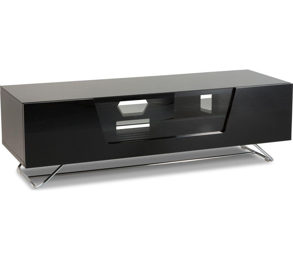 Image of ALPHASON Chromium 2 1200 TV Stand - Black, Black