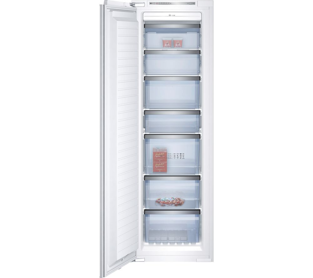 NEFF G4655X7GB Integrated Tall Freezer