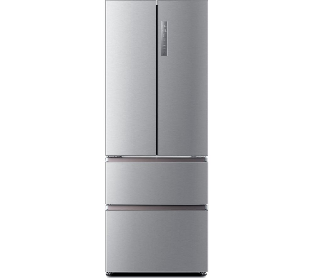 HAIER Slim American Style Fridge Freezer HB16FMAA 60/40 - Stainless Steel, Stainless Steel